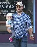 Jack Osbourne ran errands in LA with his daughter, Pearl.