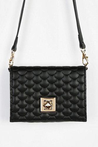 Deena & Ozzy Pyramid-Lock Mini Crossbody Bag