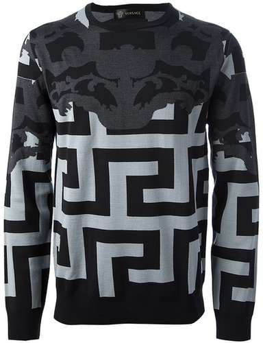 Versace 'Greca' sweater