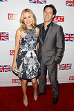 Anna Paquin and Stephen Moyer stepped out in LA for the GREAT British Film Reception event in February 2013.