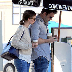 Jennifer Garner Kissing Ben Affleck's Shoulder in LA