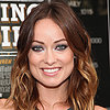 Olivia Wilde With Blue Eye Shadow
