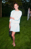 In Sag Harbor, Hilary Rhoda stepped out for a good cause at the Paddle & Party for Pink.