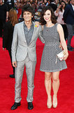 Rolling Stones star Ronnie Wood and his wife, Sally Humphreys, attended the premiere.