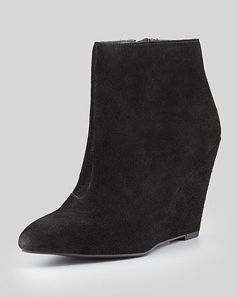 Seychelles Turn Up The Heat Wedge Bootie, Black
