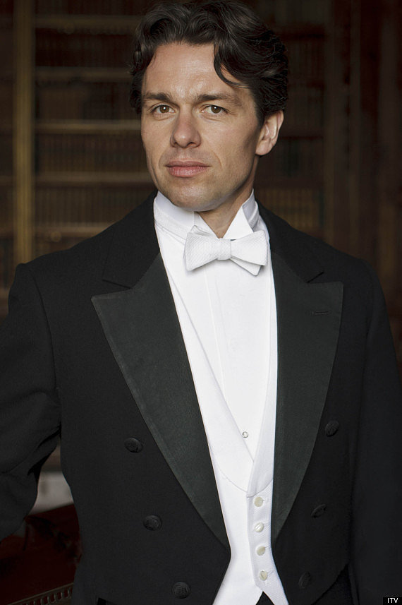 Julian Ovenden is playing Charles Blake, who comes to Downton in an attempt to make the house run better. Some of his values clash with those of the family's, specifically Lady Mary's. Source: PBS