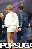 Blake Lively and Ryan Reynolds held hands at the June 2013 Chime for Change concert in London.