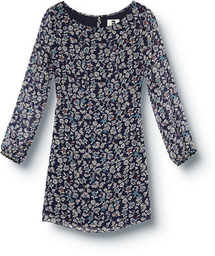 QSW Blue Stone Floral Dress