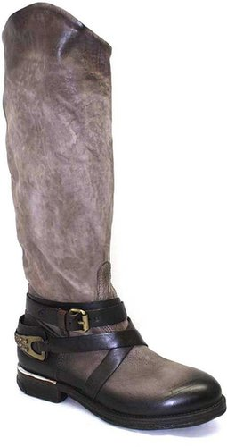 """A.S. 98 """"723304"""" Rock (Grey) Leather Riding Boot"""