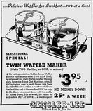 Safe to say waffle makers don't look too different nowadays compared to this 1941 ad.