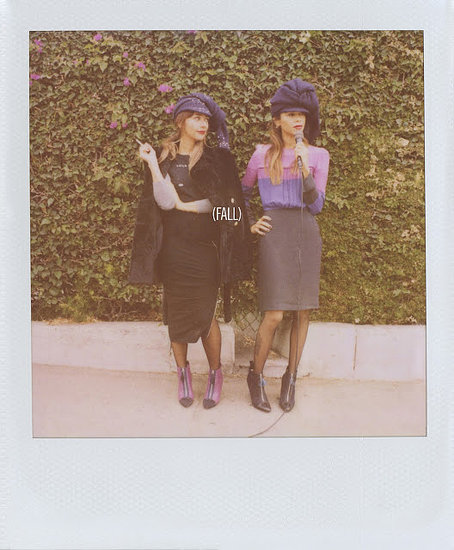 Rashida and Kidada Jones photographed by Scott Sternberg. Photo courtesy of Band of Outsiders