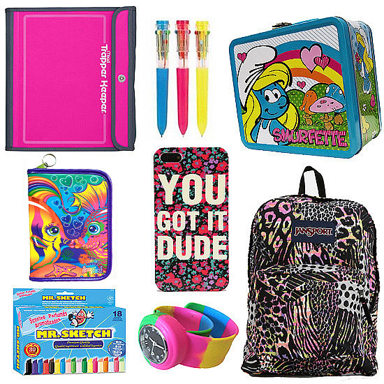 Dope '90s School Supplies For the Working Girl