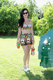 We can't help but smile at Katy Perry's full Dolce & Gabbana look.