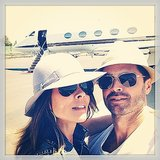Brooke Burke and David Charvet arrived home from vacation. Source: Instagram user thebrookeburke
