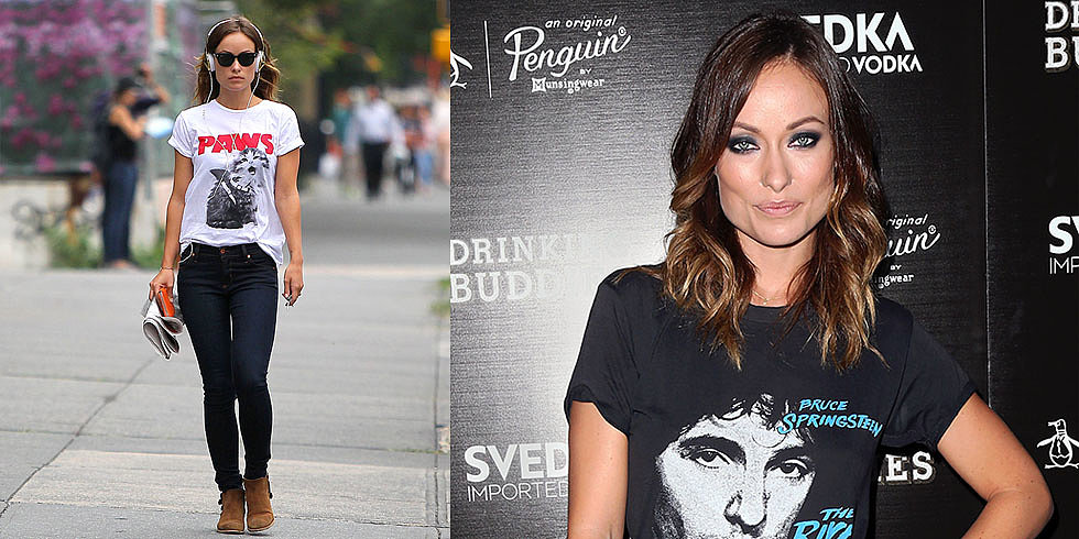 Want to Rock a T-Shirt Like Olivia Wilde?