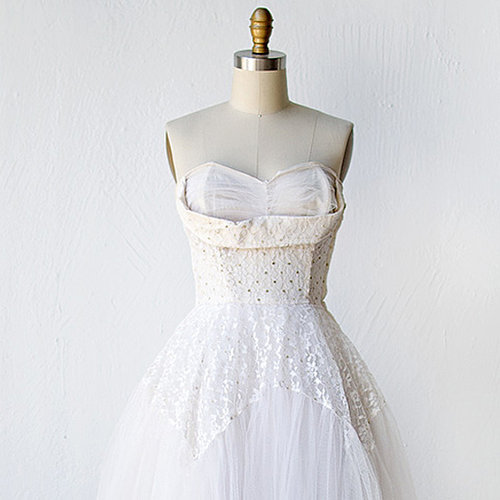 Vintage Wedding Dresses for the Offbeat Bride