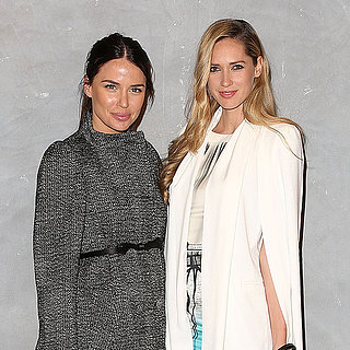 Jodi Anasta and Nikki Phillips at Sydney's Strand Arcade