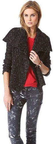 Iro Lierane Tweed Moto Jacket