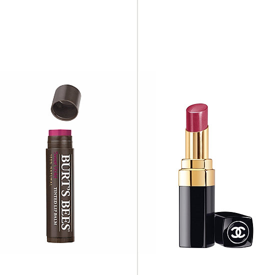If you've been swiping on your tinted lip balm for a day at the beach, reach for something with a little more high drama come Fall. Then: Burt's Bees Tinted Lip Balm in Sweet Violet ($7) Now: Chanel Rouge Coco Shine in Esprit ($34)