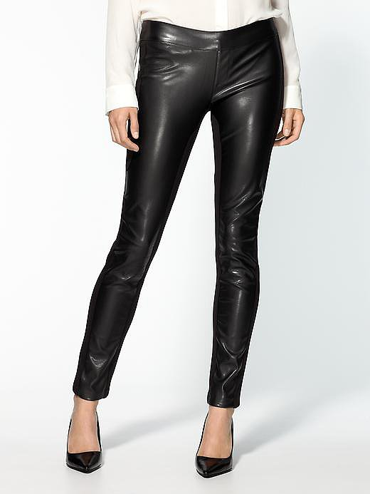 Pair these Dex vegan leather pants ($50, originally $50) with a chunky knit top for a seasonally cozy look.