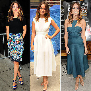 Olivia Wilde's Top Looks to Promote Drinking Buddies