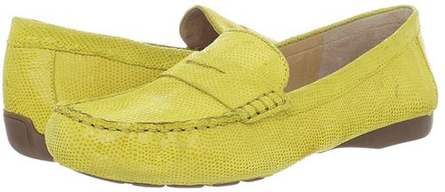Naturalizer - Lohan (Chick Yellow Foil Leather) - Footwear