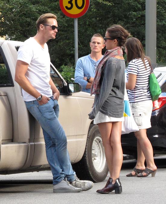 who is alexander skarsgard dating september 2015