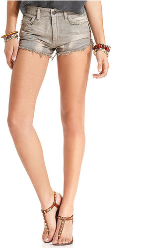 Free People Jeans, Colored Denim Cutoff Shorts