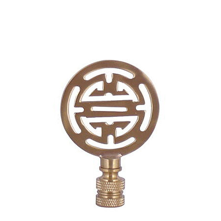 Give your lamp an easy makeover with the help of this fancy finial in brass ($12).