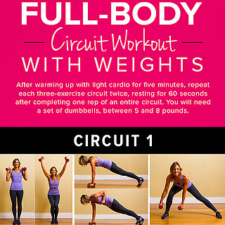 Full-Body Circuit Workout Poster