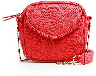Touch - Snake Textured Mini Bag