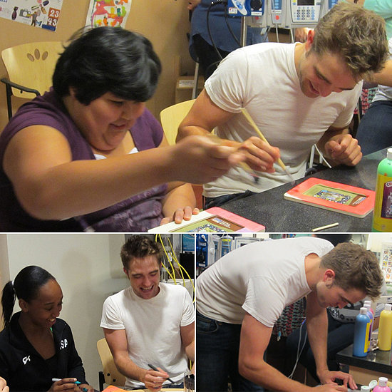 Robert Pattinson Proves He Has a Heart of Gold