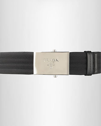 Prada Web Belt