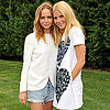 Gwyneth Paltrow With Stella McCartney at Party in Hamptons