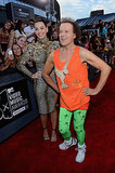 Katy Perry and Richard Simmons shared a moment on the VMAs red carpet.