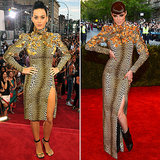 Katy Perry at 2013 VMAs Wearing Coco Rocha Met Gala Dress