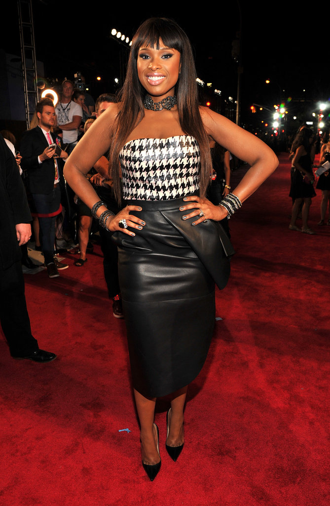 Jennifer Hudson attended the MTV VMAs.