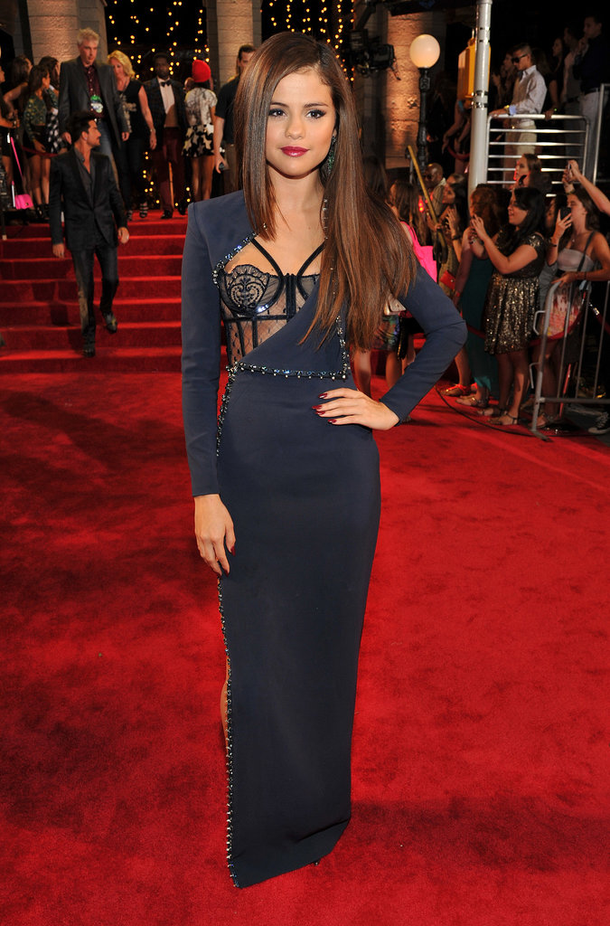 Selena Gomez attended the MTV VMAs.