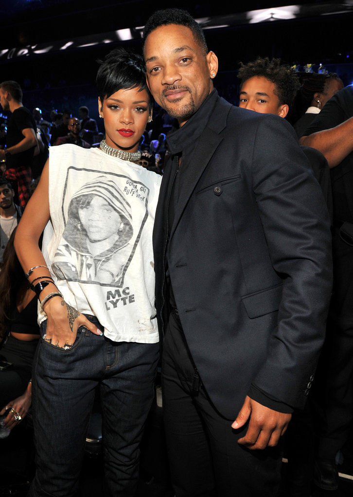 Will Smith posed with Rihanna at the MTV VMAs.