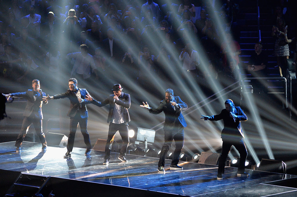 *NSYNC performed at the MTV VMAs.