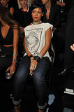 Rihanna at the MTV VMAs.