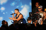 Drake performed at the MTV VMAs.