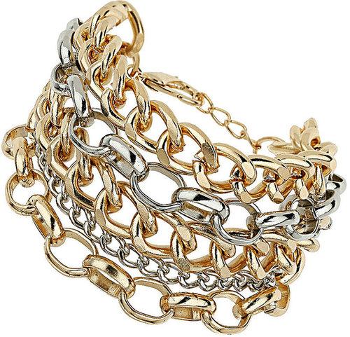 Multirow Curb Bracelet