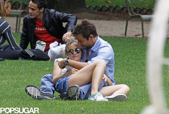 Oh La La! Bradley Cooper and Suki Waterhouse Read Lolita in the Park