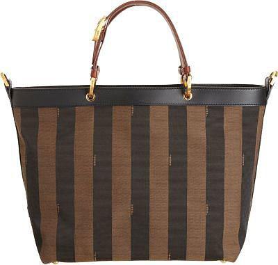 Fendi Lea Pequin Tote Bag