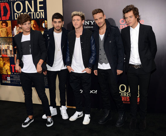 Aw! The One Direction Guys Match Outfits in NYC