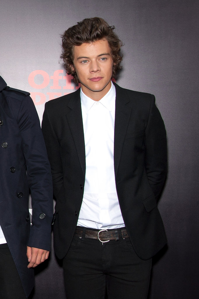 Harry Styles looked dapper at the premiere of One Direction: This Is Us in NYC.