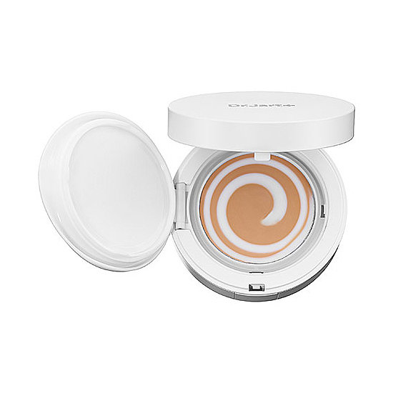 You can see the foundation and skin care combination swirl in the Dr. Jart CC Balm ($42), and this compact is perfect for sensitive skin.