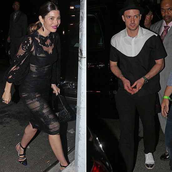 Jessica Biel Celebrates Her Man of the Hour Justin Timberlake at the VMAs After Party