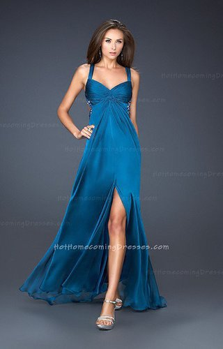 Discount Two Shoulder Long Homecoming Dresses Teal for Formal